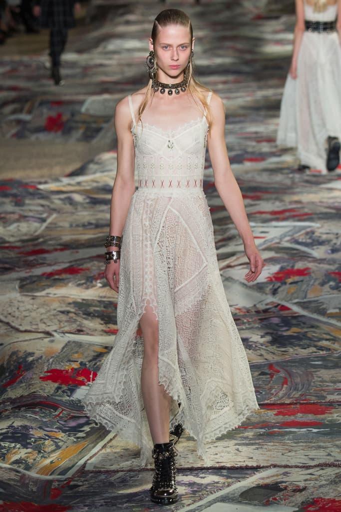 Alexander McQueen Paris Fashion Week 2017 Spring Summer