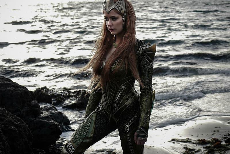 Amber Heard Mera Justice League Character