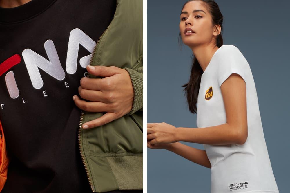 Aritzia TNA Streetwear Inspired Capsule