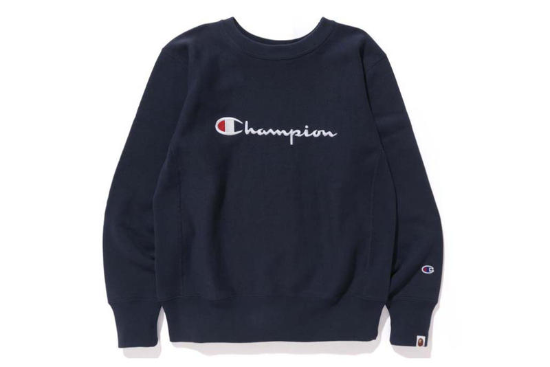 Champion x BAPE 2016 Fall Winter Capsule Collection