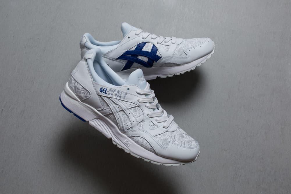 colette asics tiger gel lyte v yukata white sneaker japanese