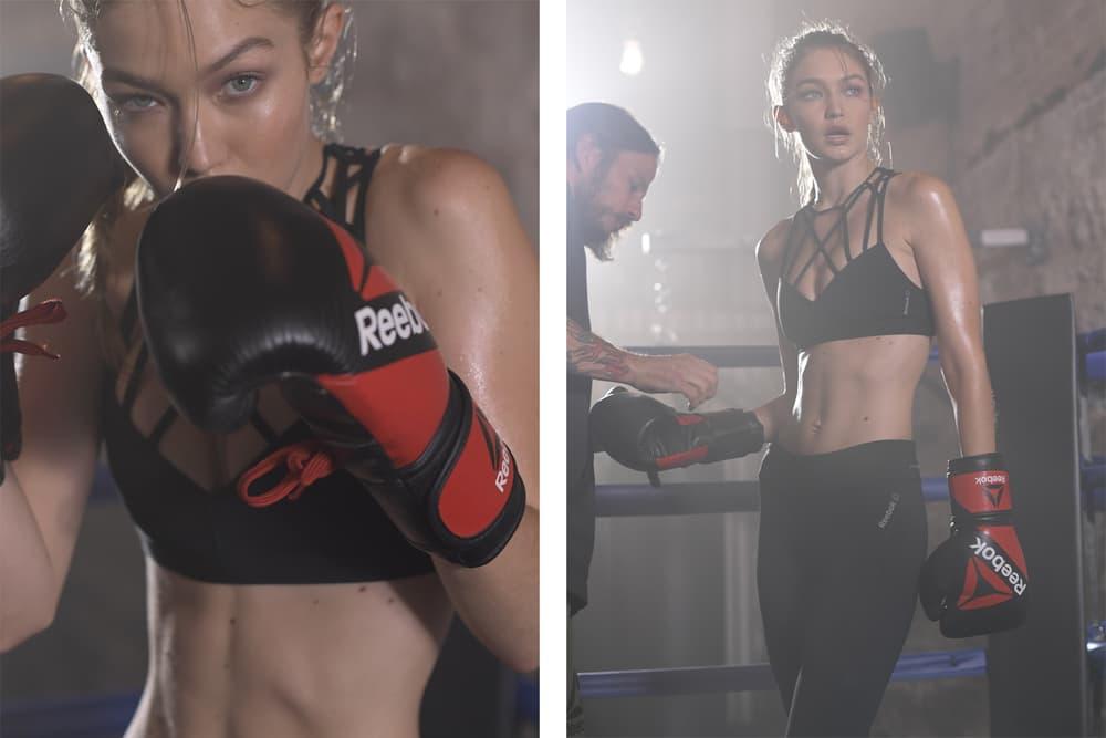 Gigi Hadid Reebok Perfect Never Boxing Campaign