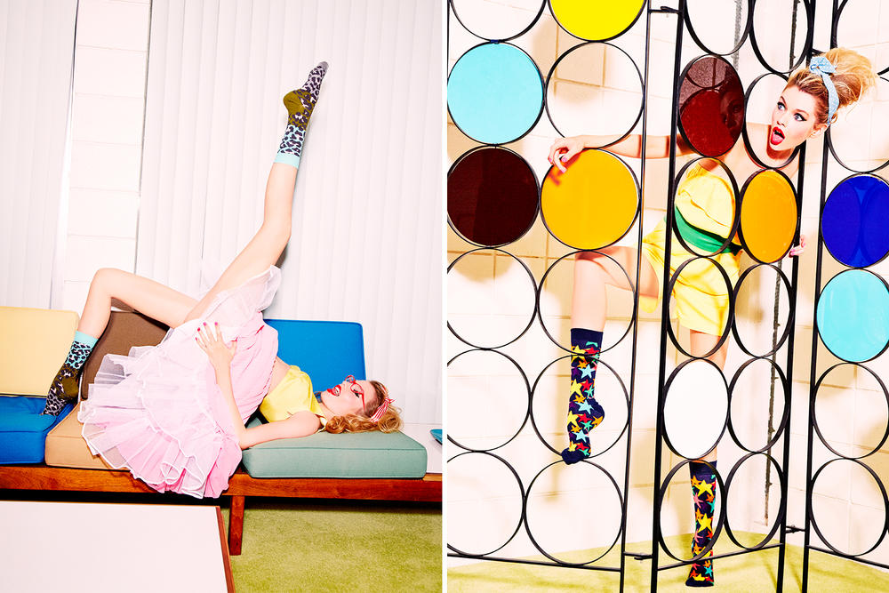 Happy Socks Ellen von Unwerth Collaboration