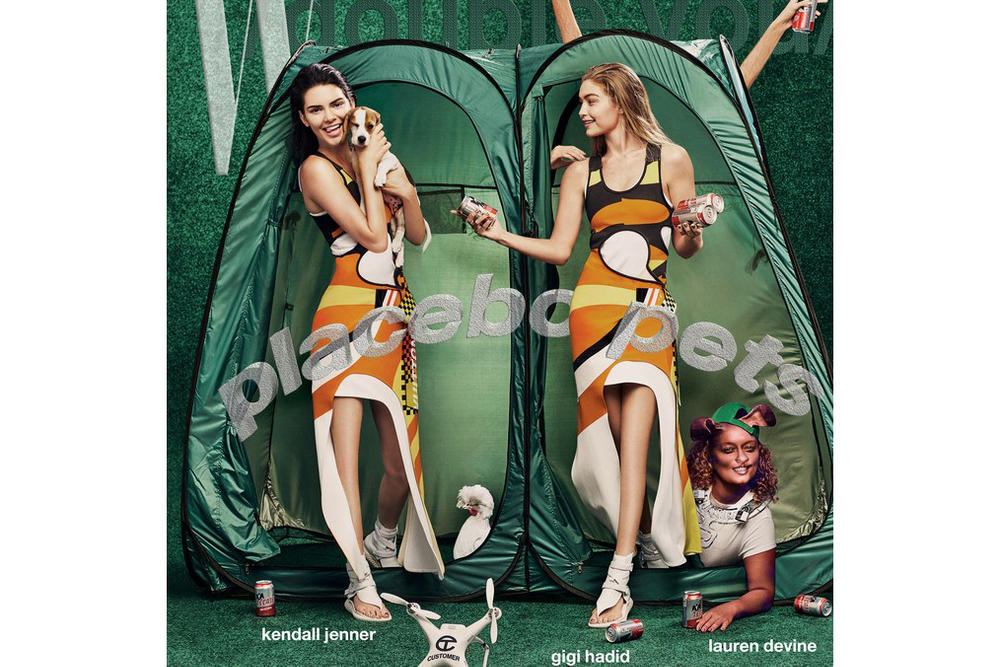 Kendall Jenner and Gigi Hadid W Magazine Art Issue 10 Year