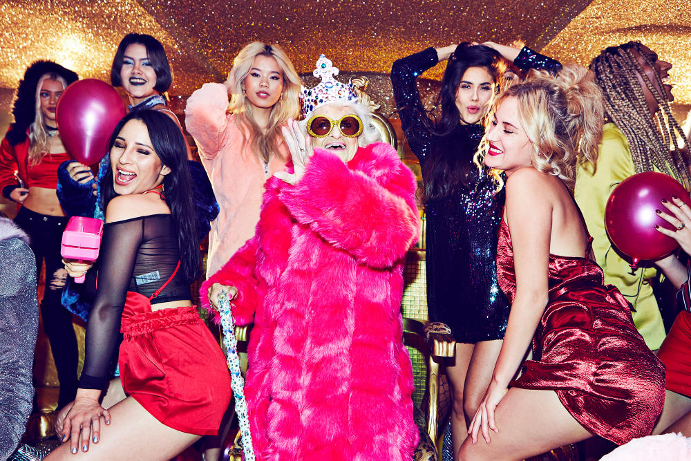 Baddie Winkle Missguided Party Wear Campaign