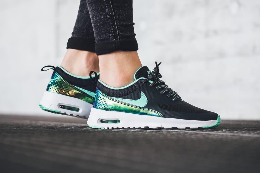 huge discount 2ada4 7942a Nike Air Max Thea Anthracite Green Glow