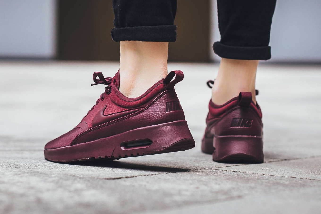 nike air max thea red or bergendy