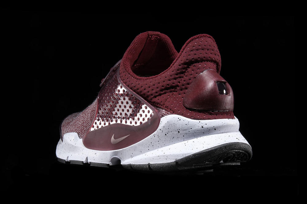 detailed look 501b8 6ad4a Nike Sock Dart SE Premium with Heathered Mesh in