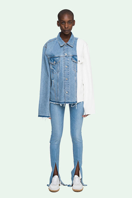 OFF White Levis Collaboration Lookbook