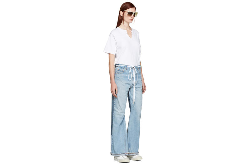 OFF-WHITE Levis Denim Jeans Collaboration