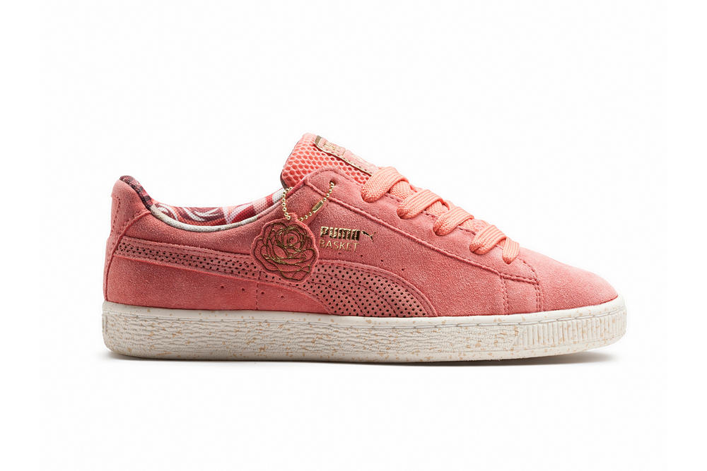 PUMA Careaux Basket  Sneaker Dedication Flower
