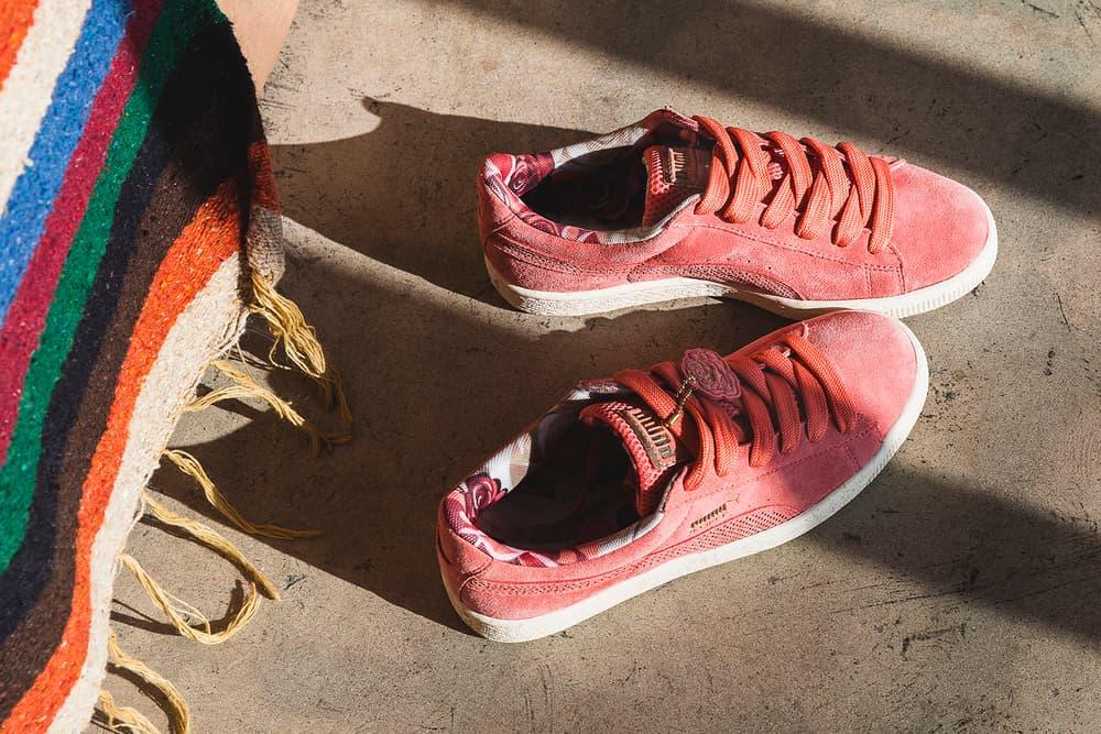 PUMA Careaux Basket  Sneaker Dedication Flower