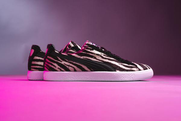 Puma Clyde Suits Cheetah and Zebra