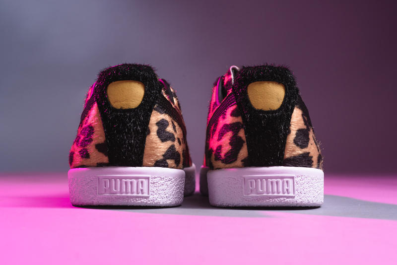 Puma Clyde Suits Cheetah Zebrah Print Animal Pack Sneaker