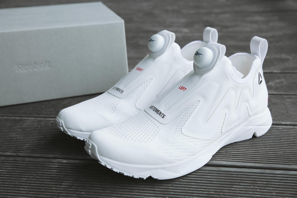 Reebok x Vetements Pump Sneaker