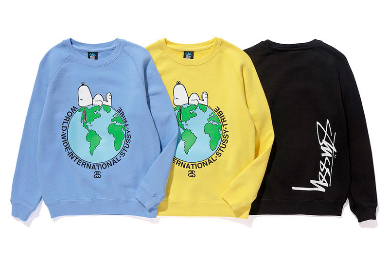 Peanuts Stussy Kids 2016 Fall Collection