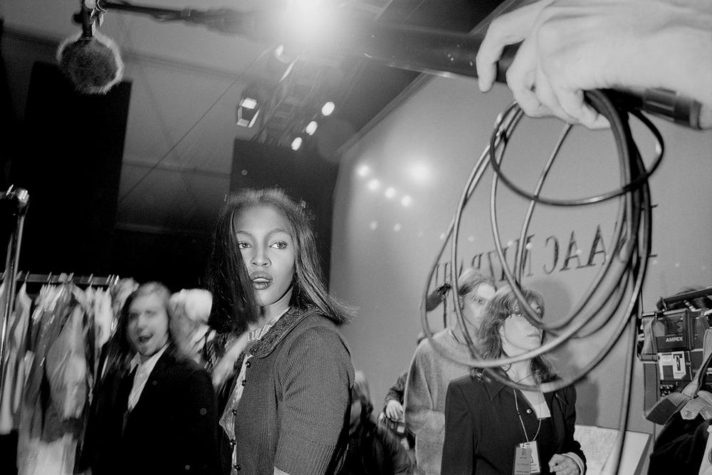Kate Moss Naomi Campbell Miles Ladin Supermodels Exhibition