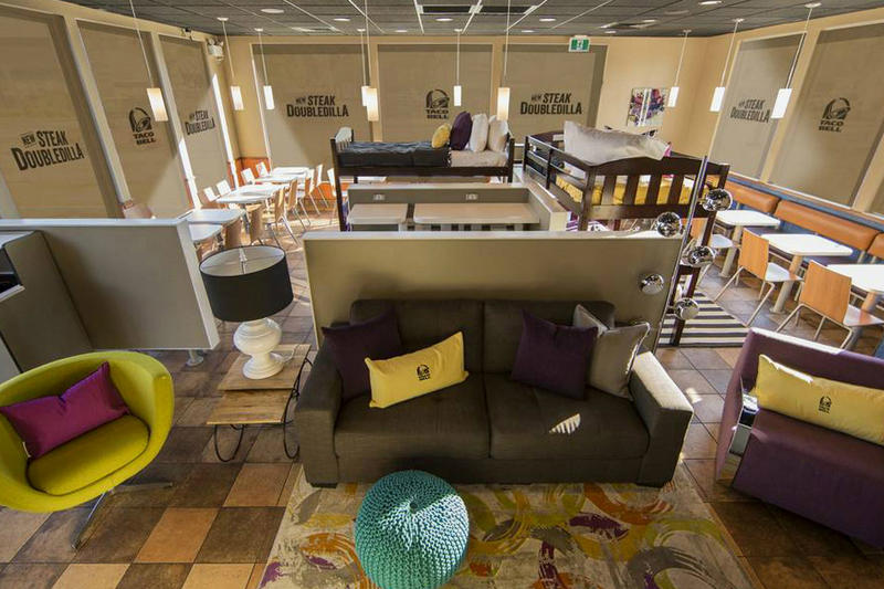 Taco Bell Airbnb Steak Doubledilla