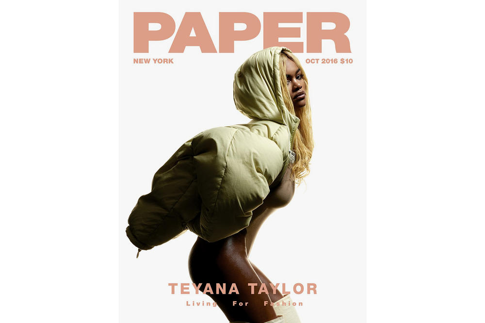 Teyana Taylor Paper Magazine Cover
