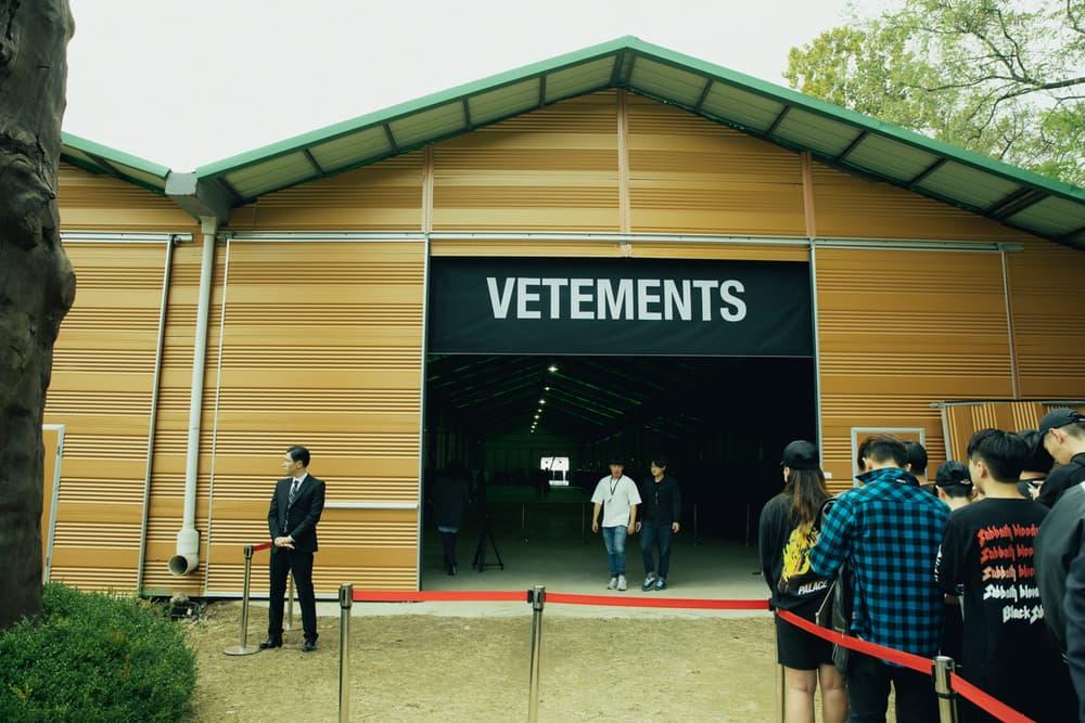 Vetements Seoul Pop Up