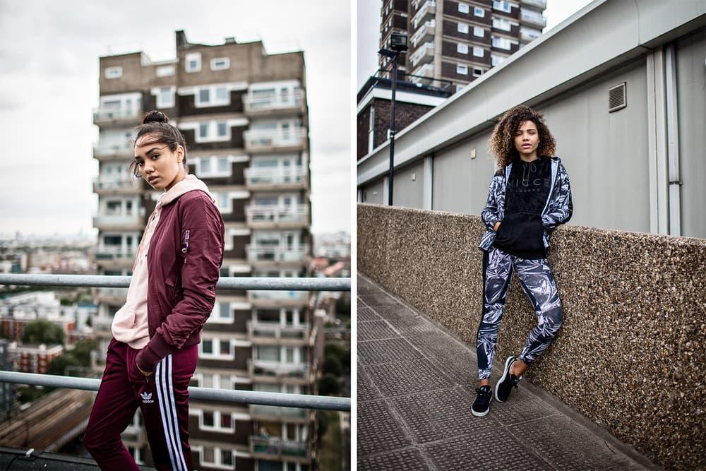 vicky grout footasylum london nike adidas nicce sportswear athleisure