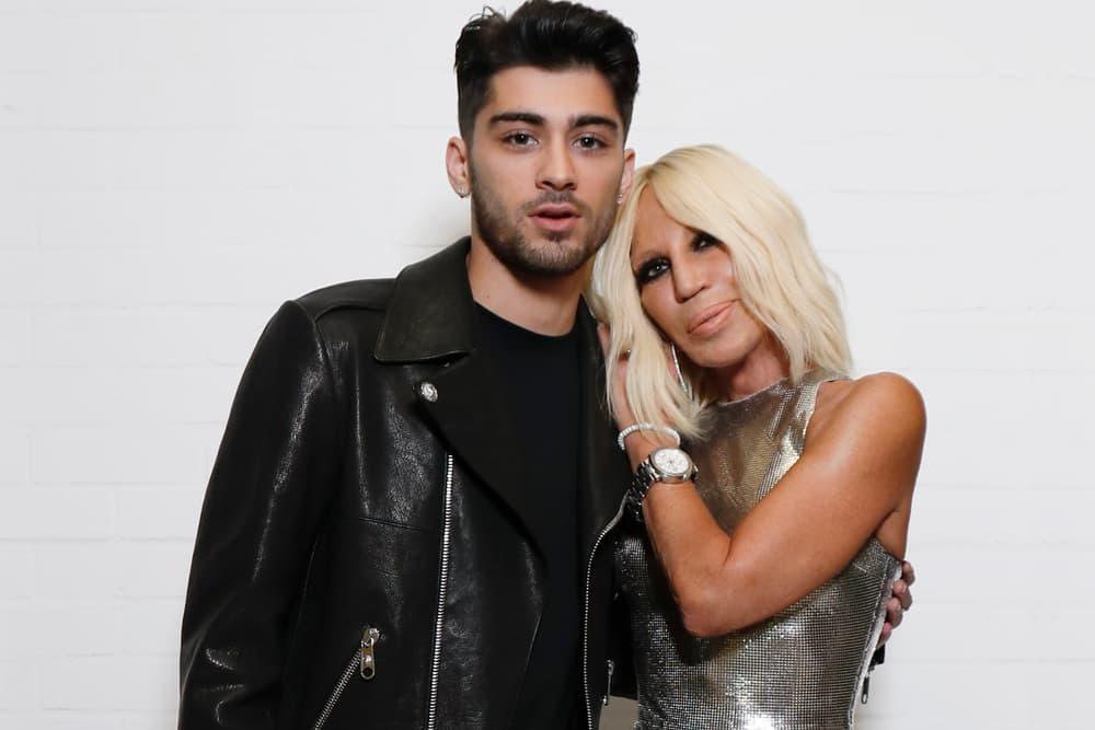 Zayn Malik Donatella Versace Versus