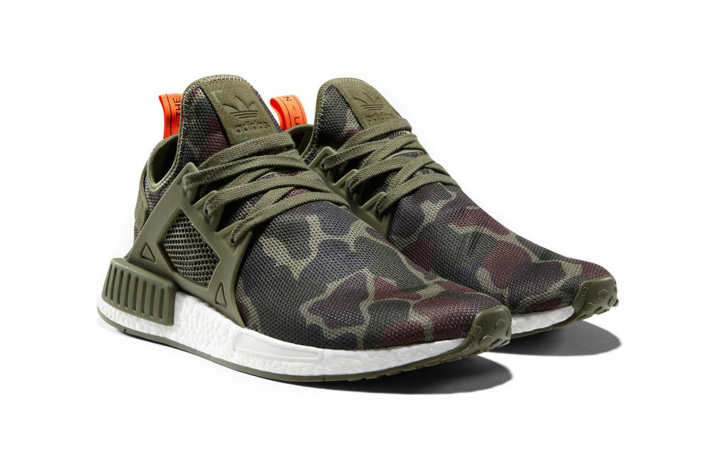 adidas NMD XR1 Camo Pack Olive Green White
