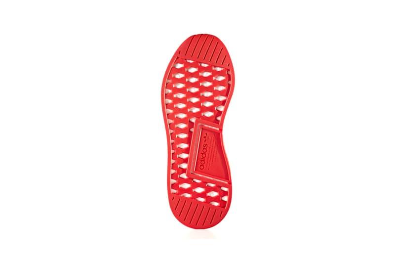 adidas Originals NMD R2 White Black Red Outline