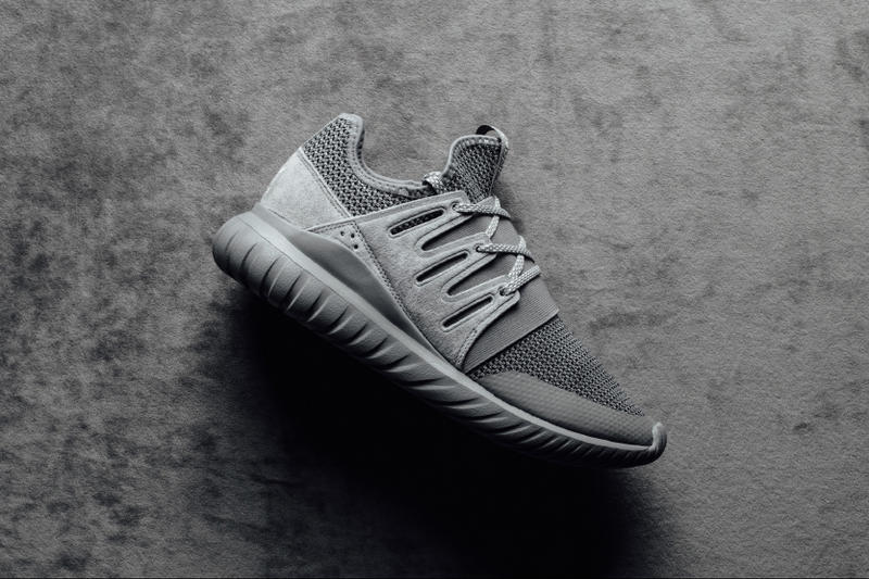 adidas Originals Tubular Radial Charcoal Solid Grey