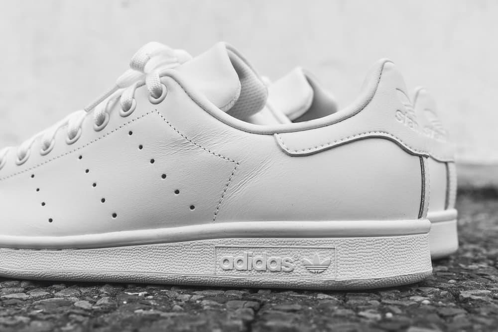 adidas stan smith triple white leather