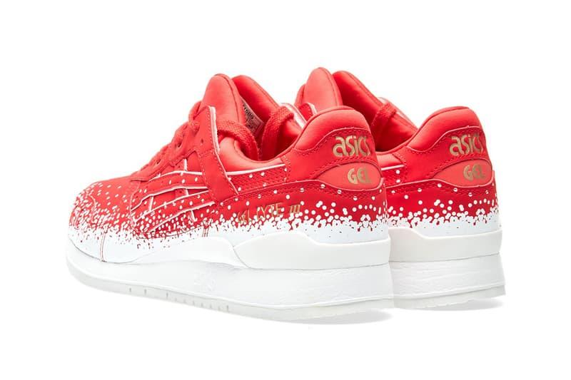 ASICS GEL-Lyte III Christmas Red