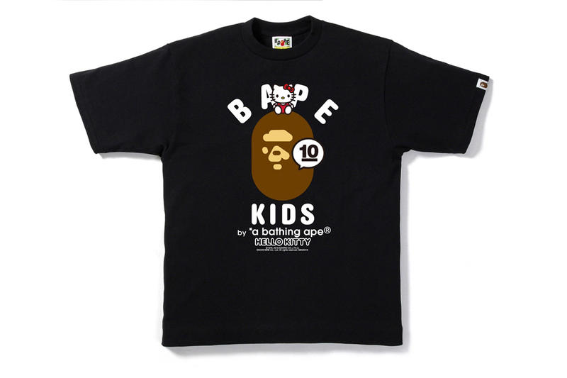 BAPE KIDS 10 Year Anniversary Collection With Hello Kitty x My Melody