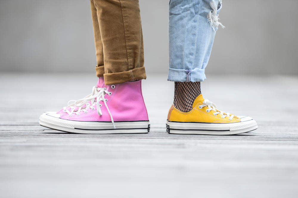 Converse Chuck Taylor All Star 70 Pink Yellow