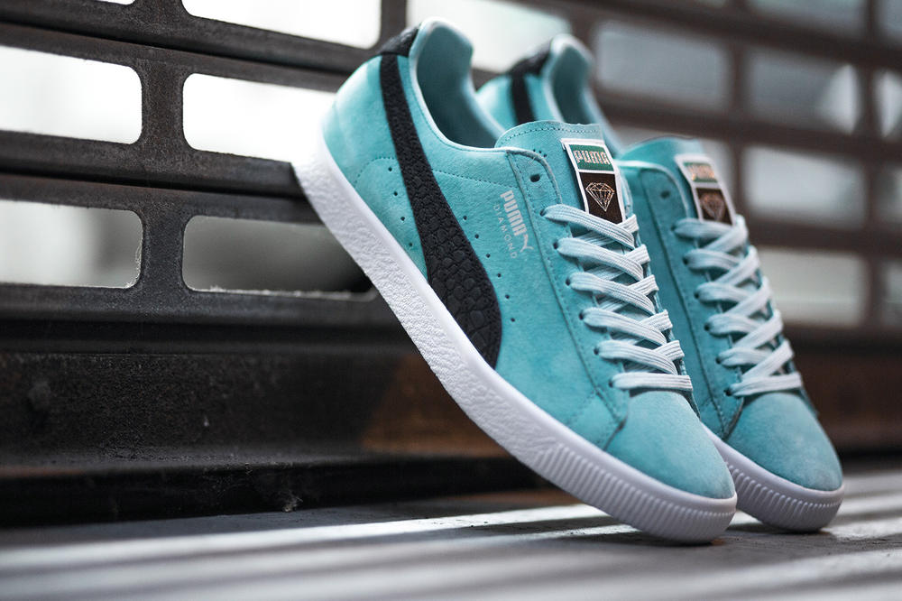 PUMA Diamond Supply Co Clyde Collaboration