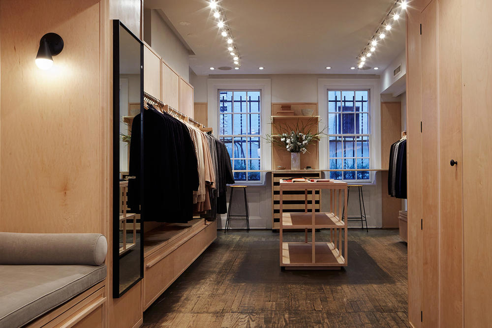 Everlane Cashmere Cabin Concept Shop West Village