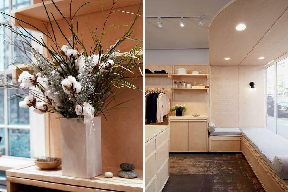 Everlane Cashmere Cabin Concept Shop West Village