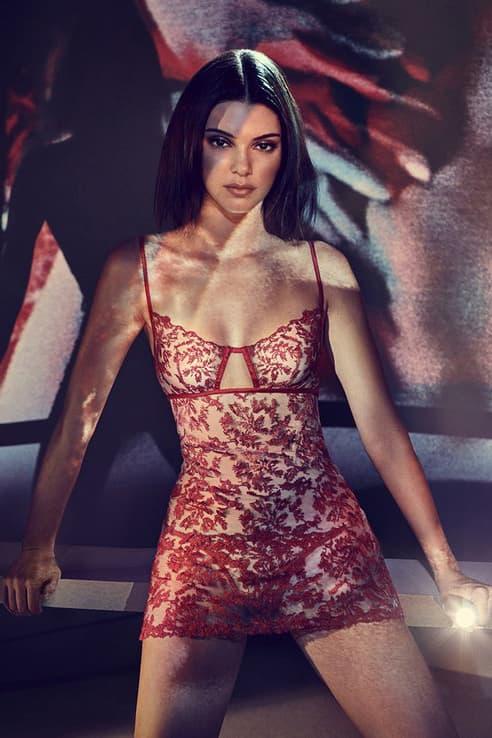 Kendall Jenner La Perla Lingerie Campaign
