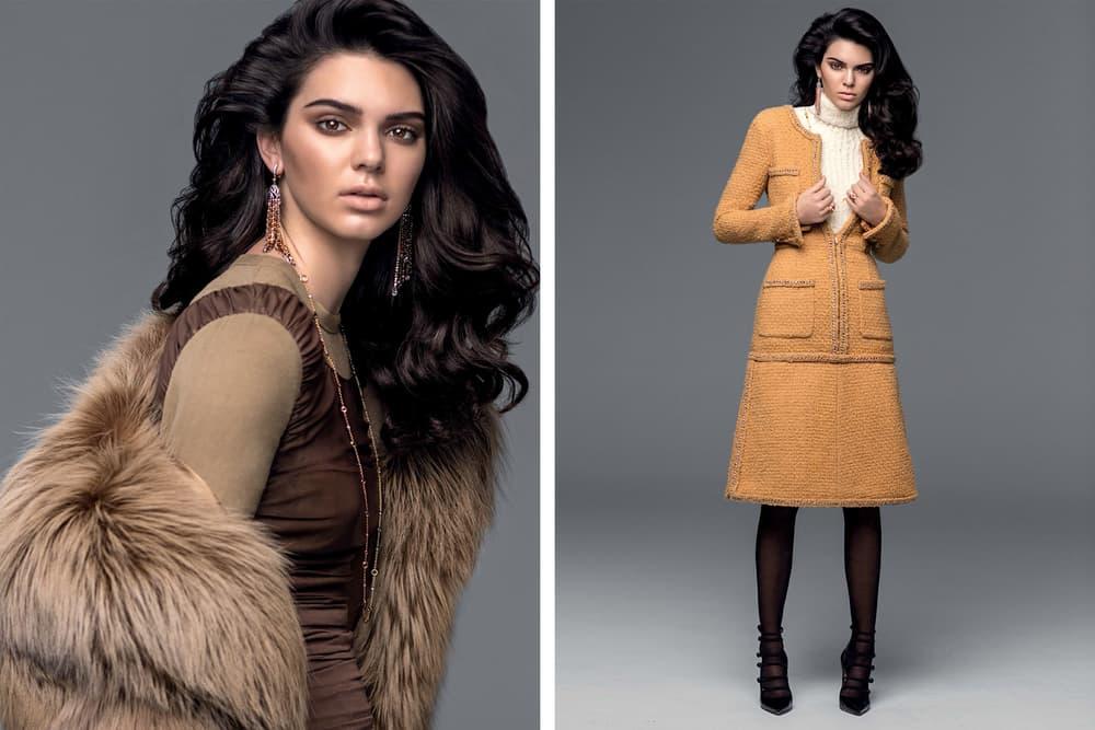 Kendall Jenner Vogue Turkey November 2016 Cover
