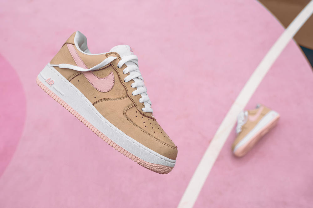 Kith x Nike Air Force 1 Linen Futura