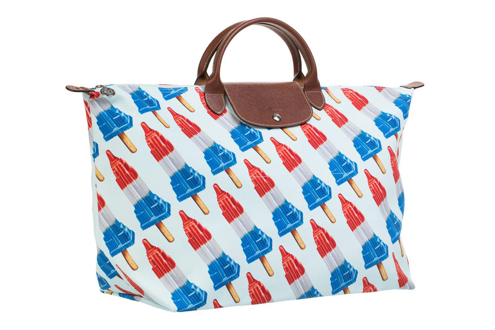 Jeremy Scott Longchamp Bag Empire State Popsicle