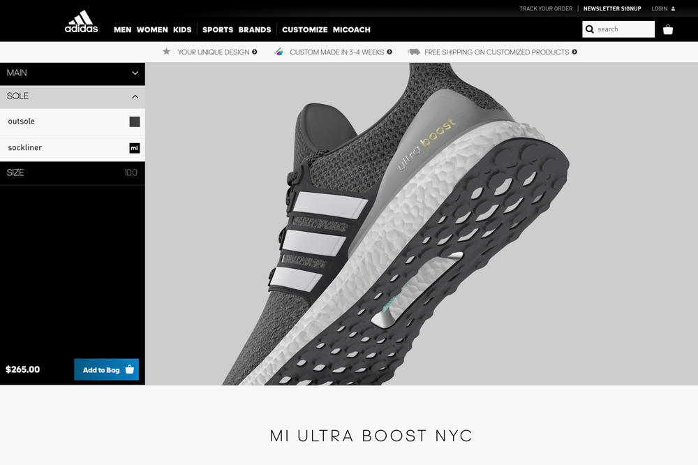 mi adidas UltraBOOST Customization