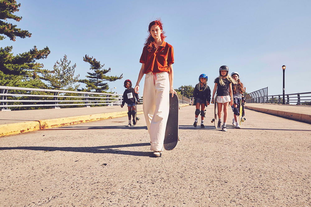 Natalie Westling Vans Sk8-Hi Reissue DX Campaign Opening Ceremony