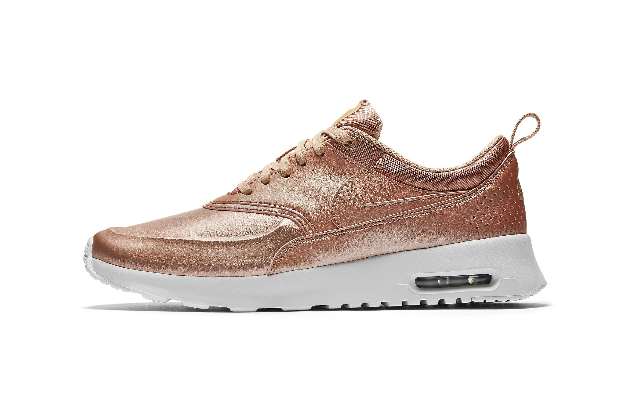 Bandier Air Max Thea in Rose Gold