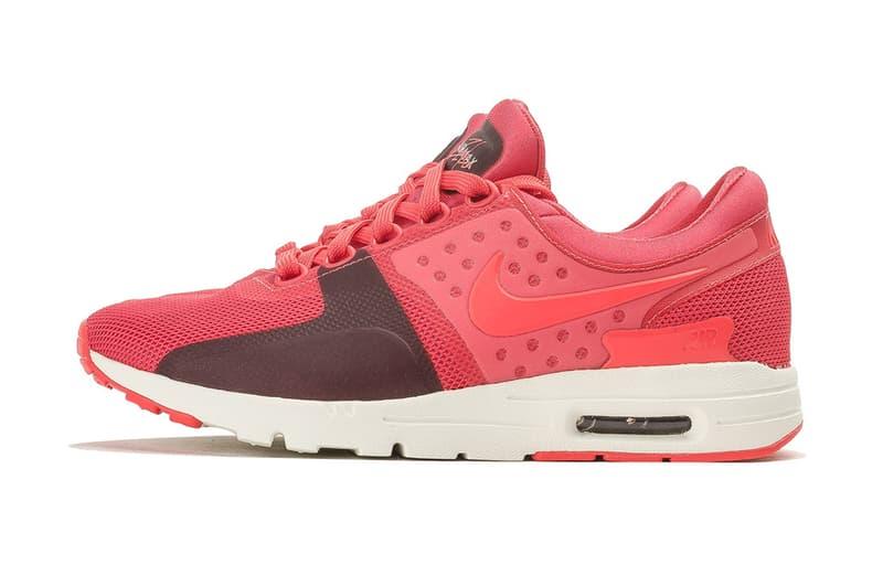 new product 5fd1f cc801 Nike Air Max Zero Wolf Grey Bright Crimson