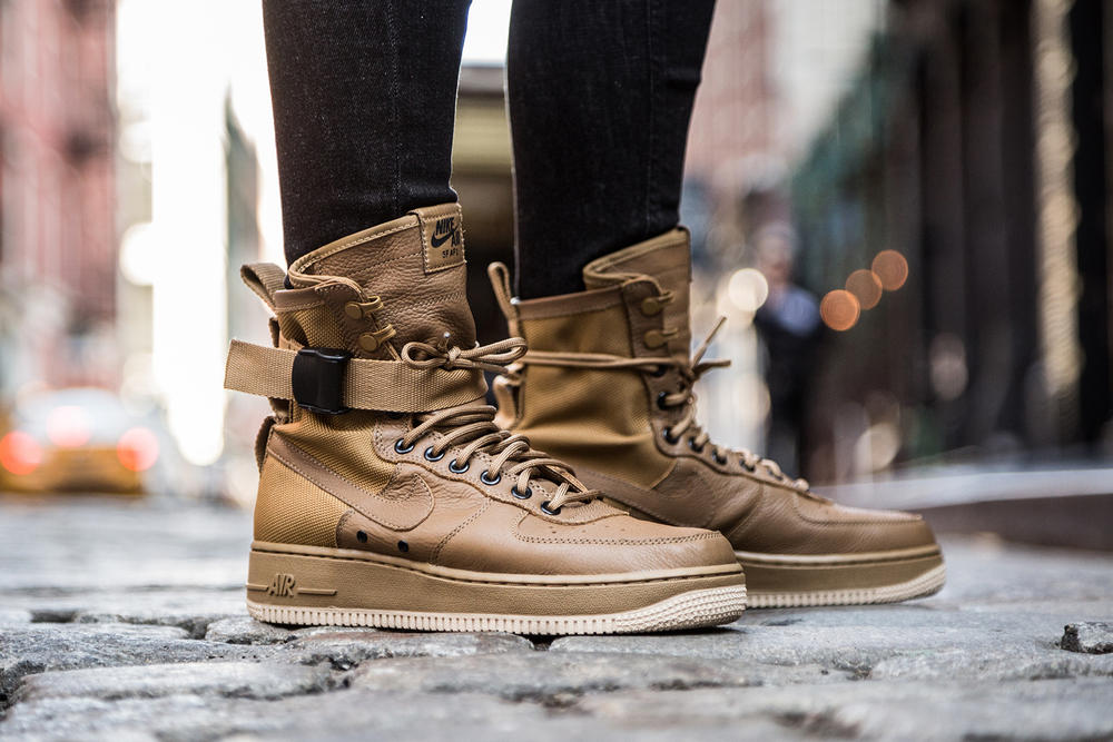 timeless design f051f a761d Nike Special Field Air Force 1 On Feet