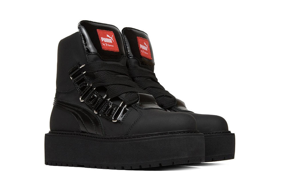 huge discount ba640 c49f8 Rihanna x PUMA's New Sneaker Boot is Unisex | HYPEBAE
