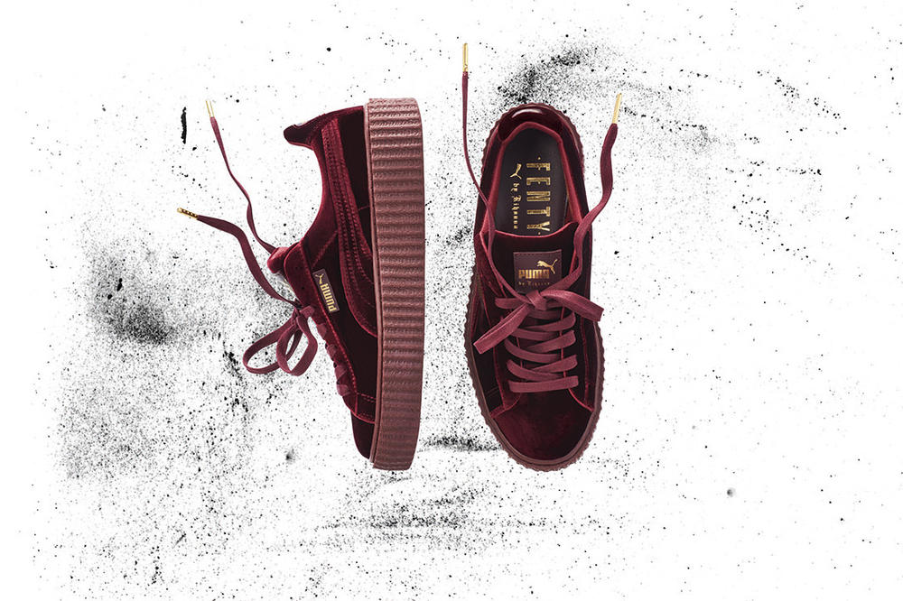 Rihanna Is Here With New Velvet and Leather PUMA Creepers  ac310a418