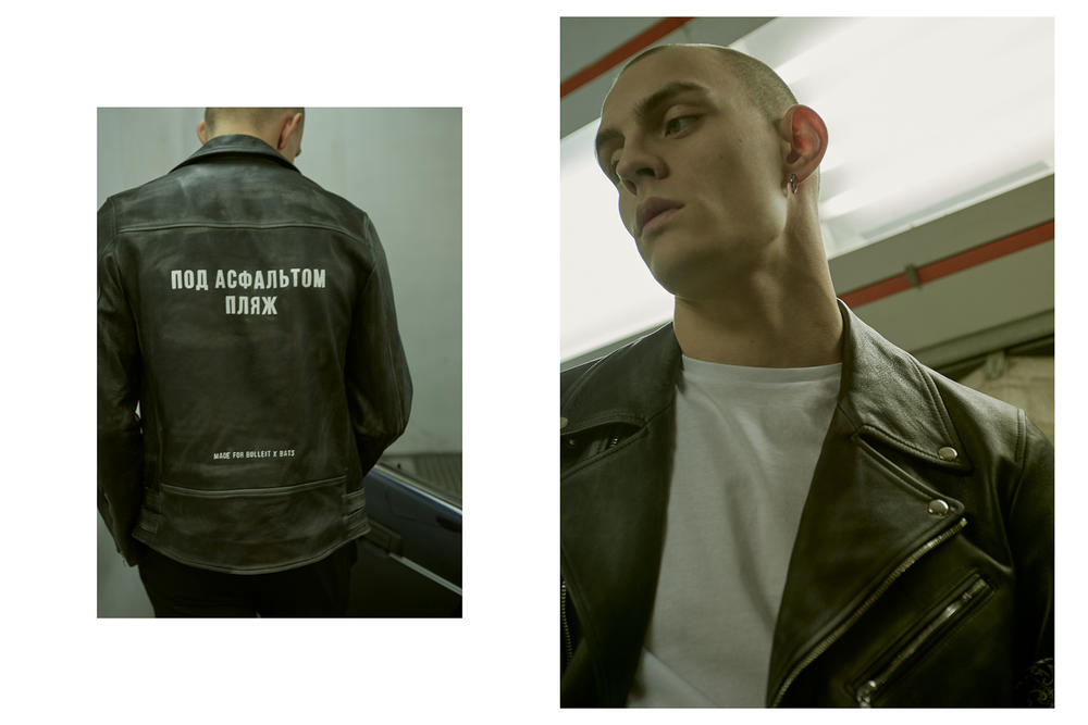 Bats Leather Jacket Collection Lookbook