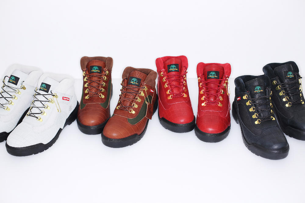 Supreme Timberland 2016 Fall Winter Collection