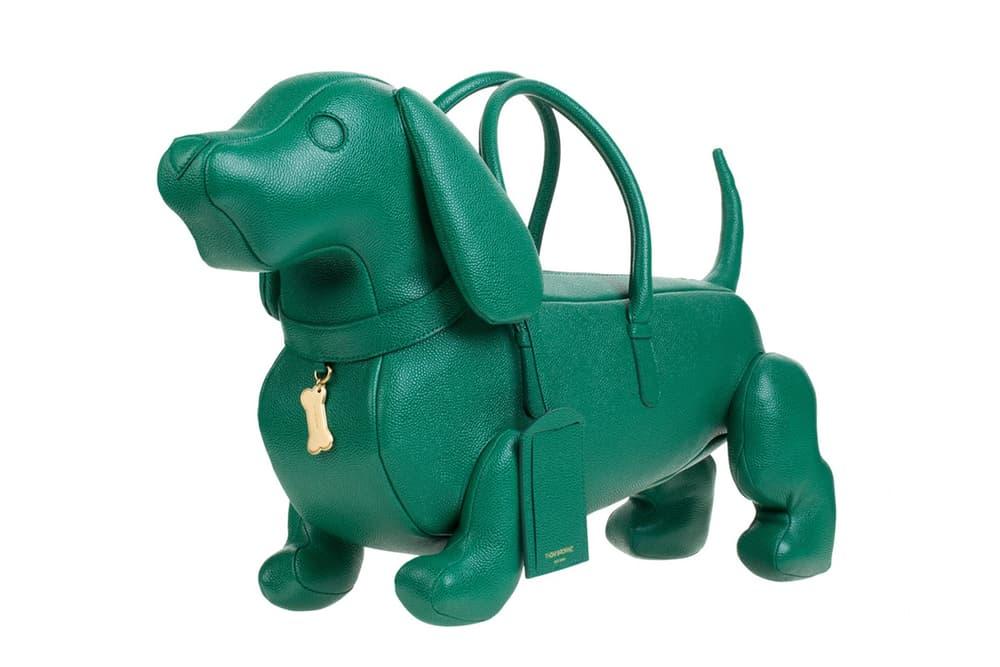 Thom Browne Hector Browne Dog Purse